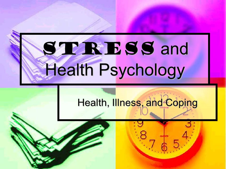 Niggly stress or major stress  -  which one can be fatal?
