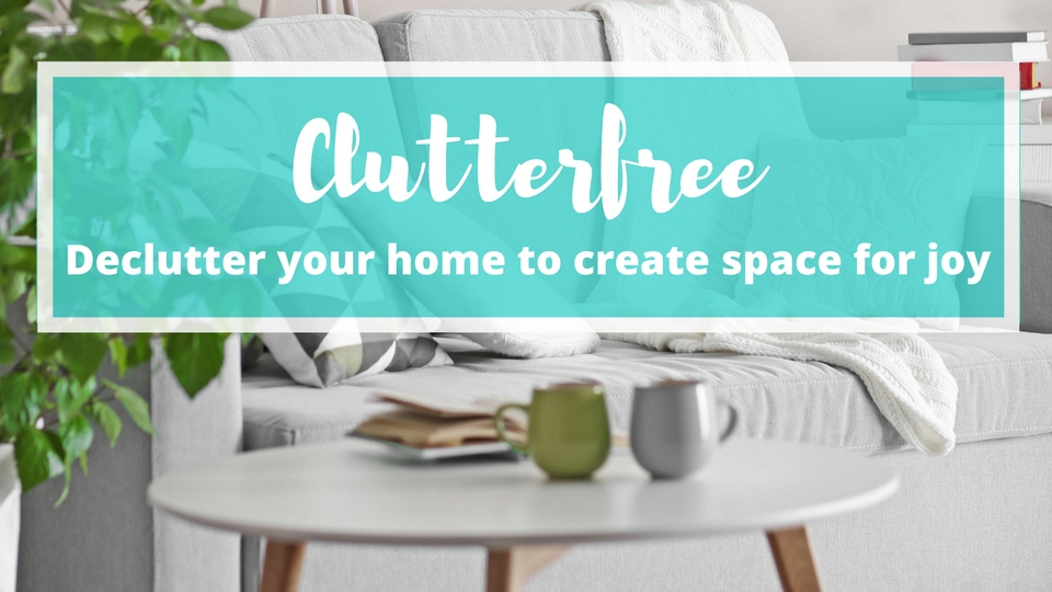 Declutter your home for peace of mind