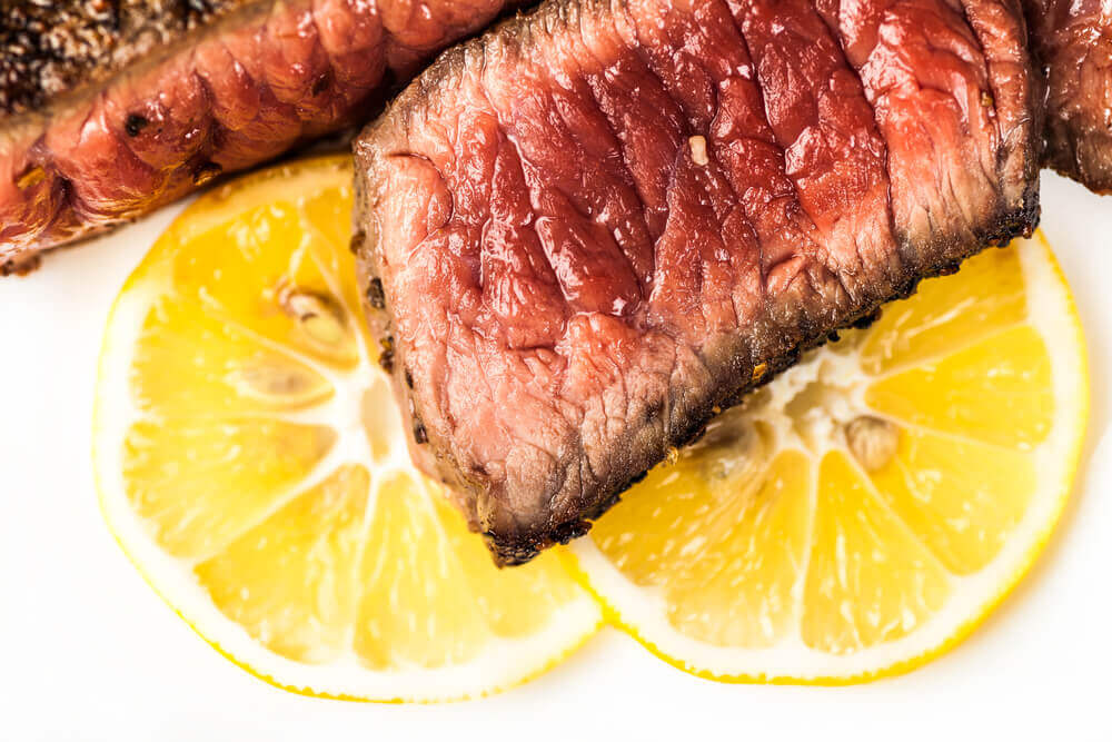 How to tenderise meat with lemon juice